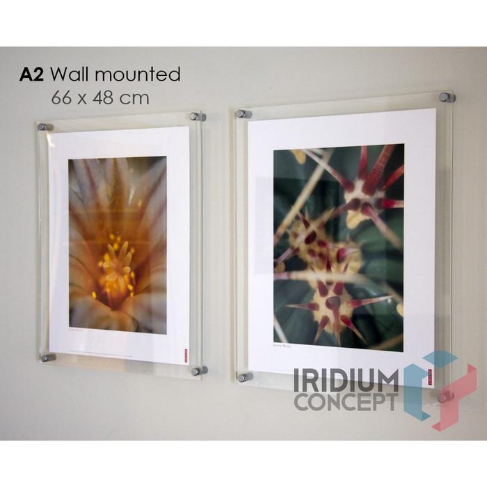 Wall Decor Islami Hiasan Dinding Poster Dakwah Apa403 Plus Frame Source · harga Mount dinding akrilik
