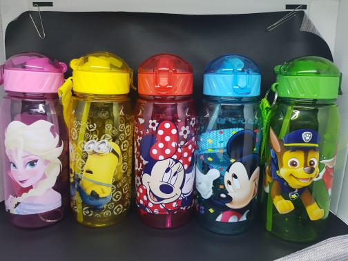 Besties Kiddo Botol Minum Anak BPA Free 500ml Karakter Anak Laki-laki - Multicolor  