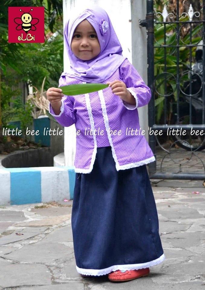 Jual Setelan Kebaya Muslim Anak I Kebaya Simple I Kutu Baru Anak I Calista Kota Surabaya Ramti Store Tokopedia