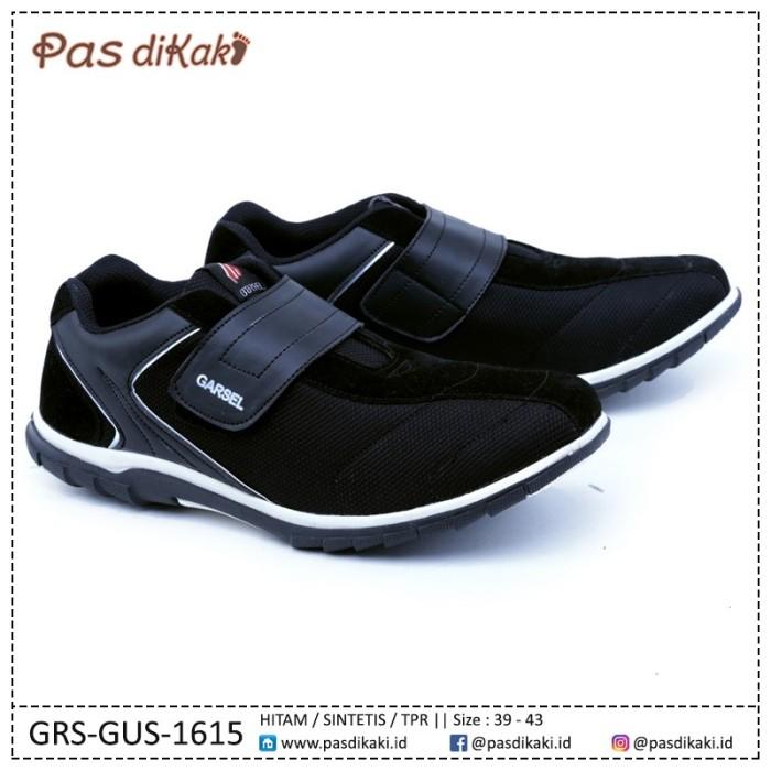 harga Sepatu casual kets velcro strap pria | garsel grs-gus-1615 Tokopedia.com