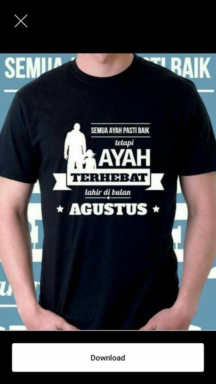 Jual Kaos Tshirt SEMUA AYAH PASTI HEBAT Diskon Jakarta Pusat Kaitoshop1