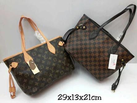 Jual Tas Import Tas Branded Tas KW Tas Murah LV Neverfull Size S KW ... 921c115e60