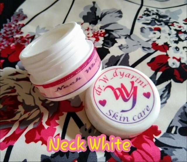 harga Neck white ( cream pemutih leher ) dr. widya skincare Tokopedia.com