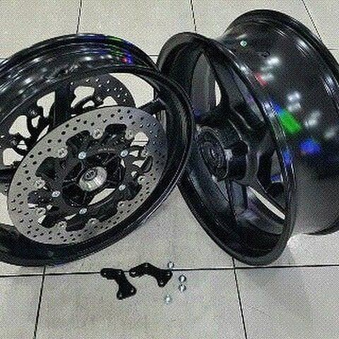 harga Velg delkevic double disc ninja 250 fi & z250 fi & ninja 250 r Tokopedia.com