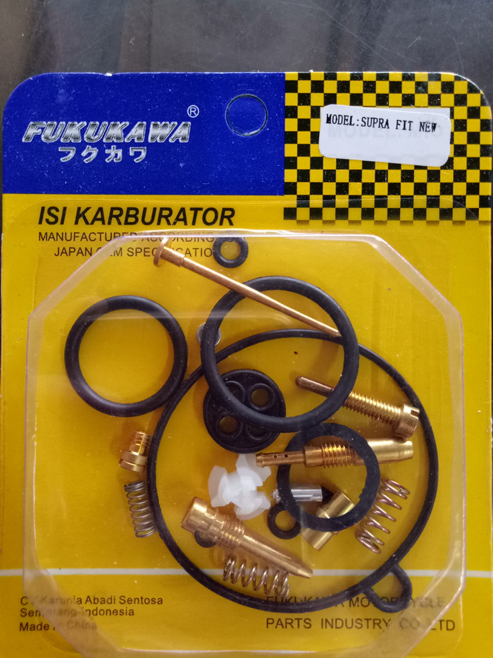 harga Repairkit/repair kit karburator supra fit new - fukukawa Tokopedia.com