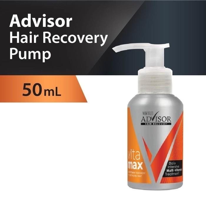 MAKARIZO ADVISOR VITAMAX HAIR RECOVERY PUMP 50 ML (VITAMIN RAMBUT)