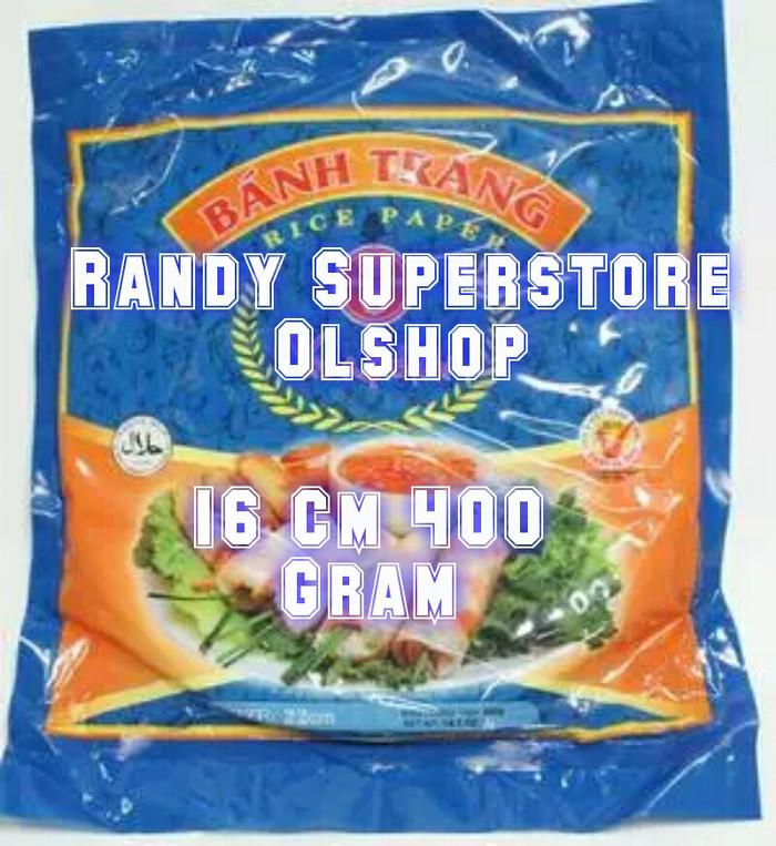 harga Kulit Lumpia Asli Vietnam Rice Paper 16 Cm 400 G Tokopedia.com