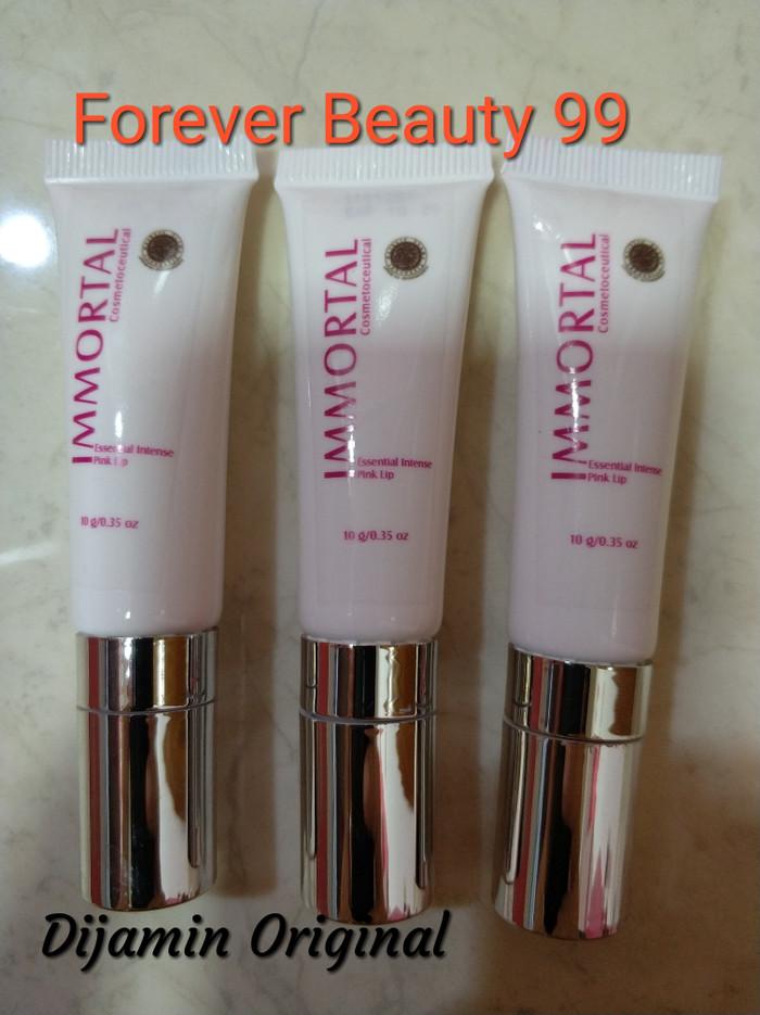 Immortal Essential Intense Pink Lip - krim pemerah bibir