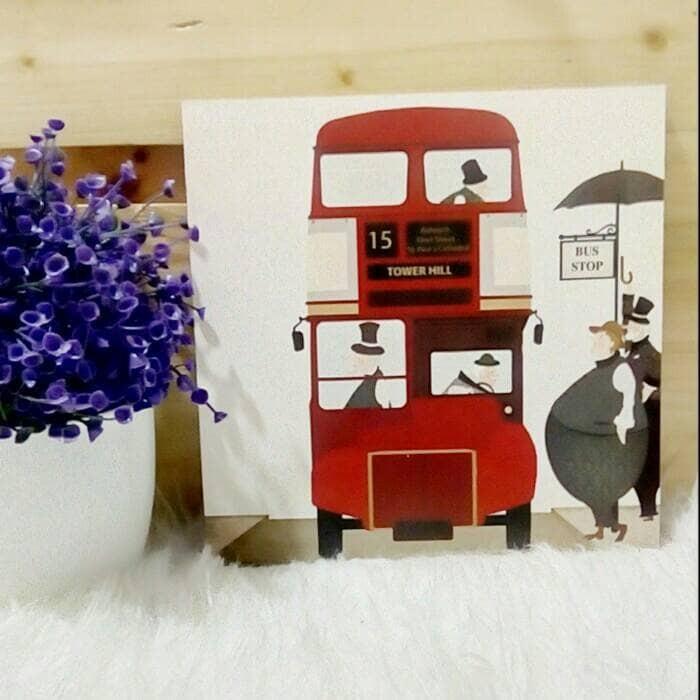 harga Hiasan dinding vintage lukisan stiker vinyl doff bus london england Tokopedia.com