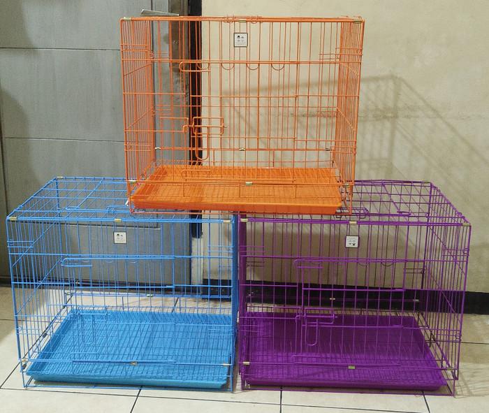harga Kandang kucing anjing ukuran 63 x 51 x 45 - kandang bally Tokopedia.com
