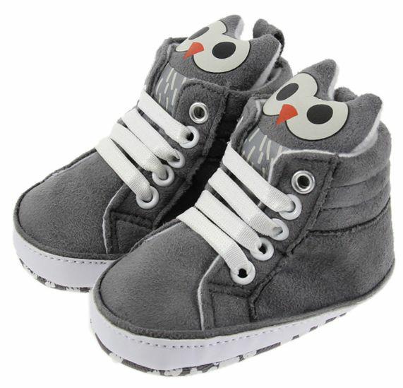 harga Sepatu bayi owl grey shoes Tokopedia.com