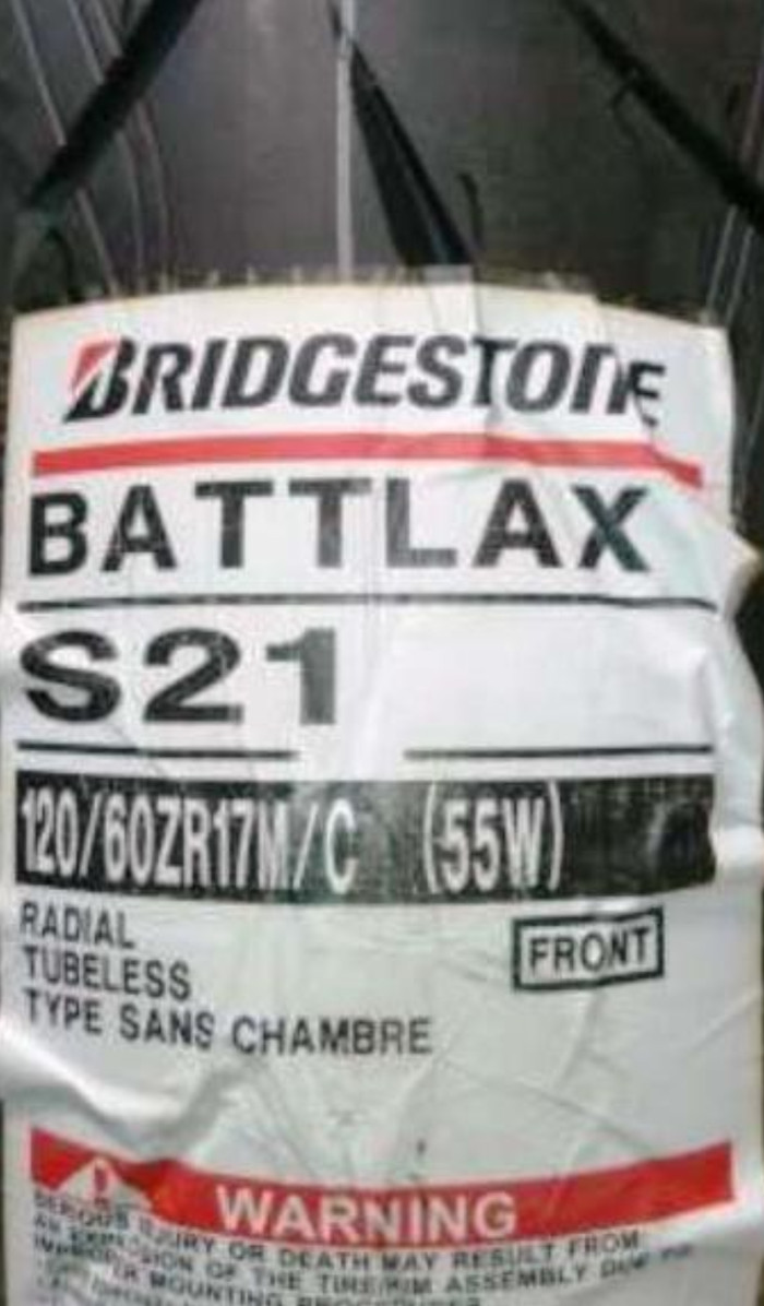 Jual Ban Battlax S21 120 60 17 Cek Harga Di Zr 160 Motor Sport Bridgestone
