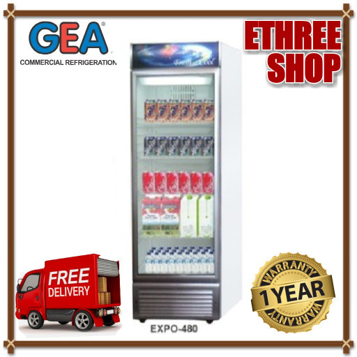 harga Gea display cooler expo 480 - showcase cooler - garansi resmi Tokopedia.com