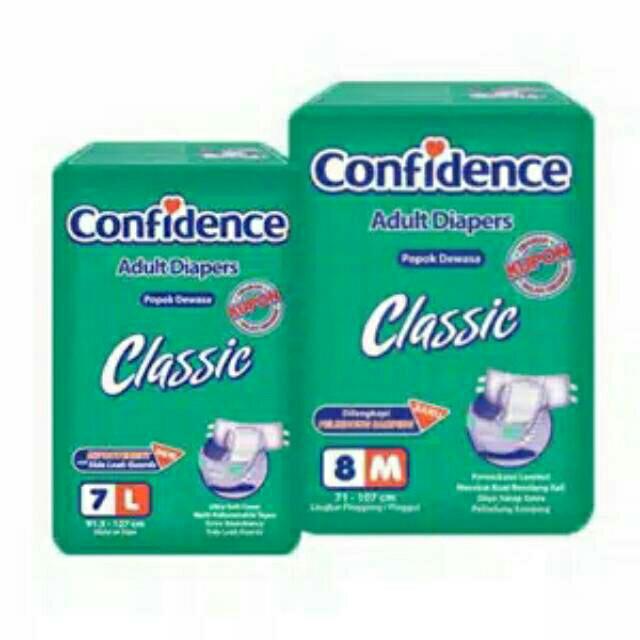 harga Confidence Classic Diapers Popok Dewasa Tokopedia.com
