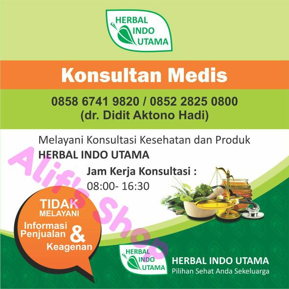 HIU ROID Obat Herbal Wasir Ambeien Herbal Indo Utama