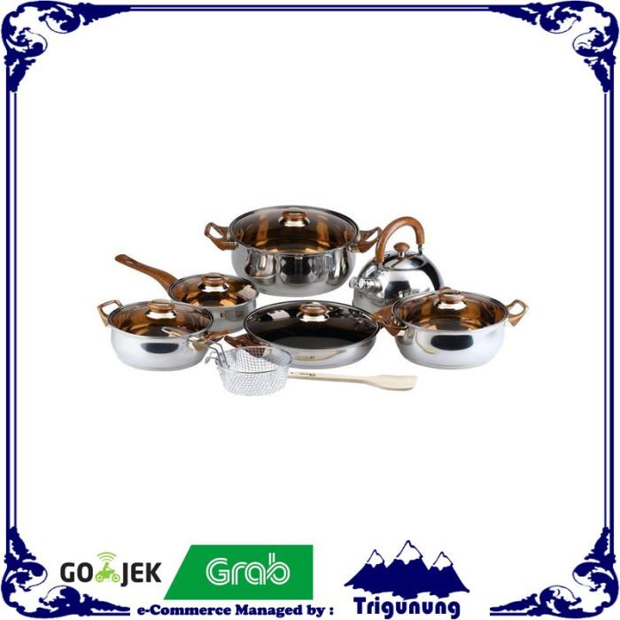 Oxone - ox-933 cookware set 12 + 2 pcs