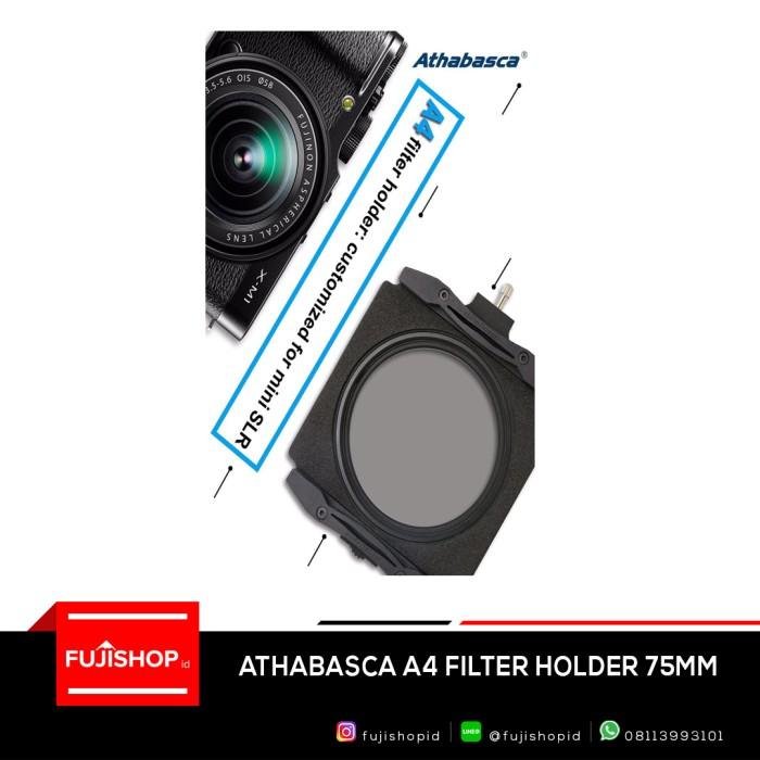 harga Athabasca filter holder a4 system 75mm Tokopedia.com