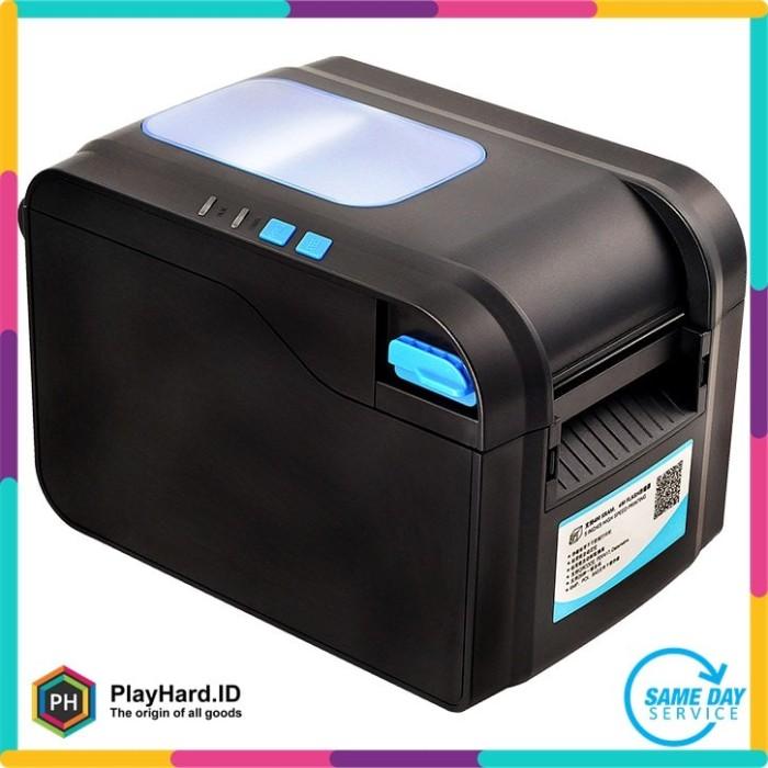 harga Xprinter pos thermal receipt printer 80mm - xp-370b - black Tokopedia.com