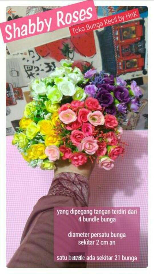 Jual bunga plastik bunga hias bunga dekorasi shabby chic - toko ... c7f9152dff