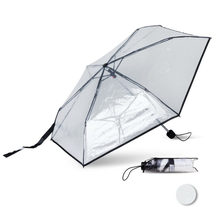 payung lipat transparan tabasa bening korea jepang termurah