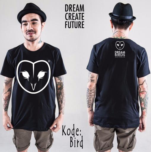 harga Kaos dream bird face Tokopedia.com