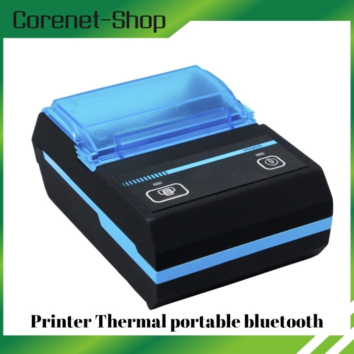 harga Mini printer thermal bluetooth portable 58mm  android ios Tokopedia.com