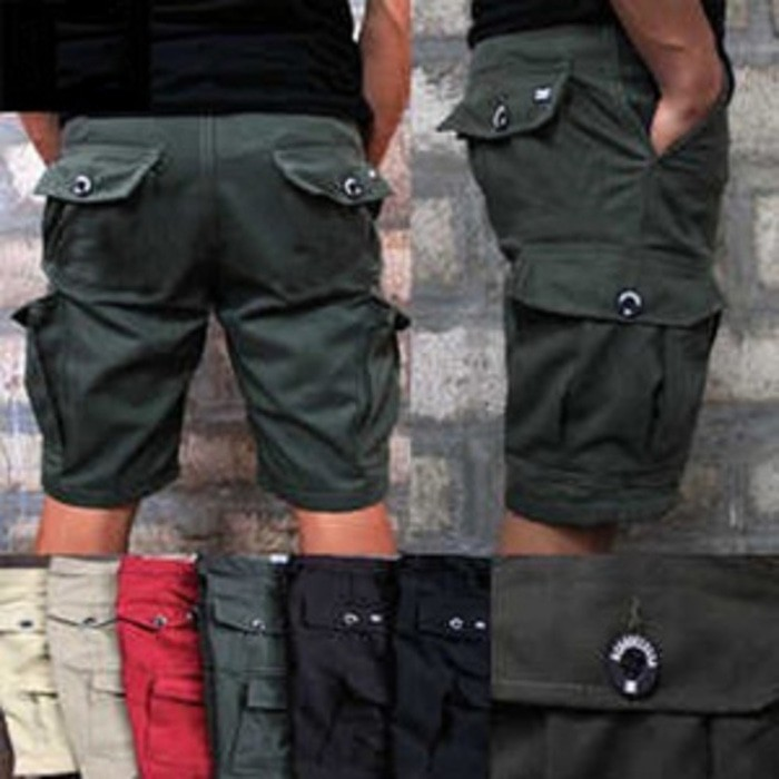 Valco Three Denim Celana Cargo Panjang Slimfit Pria - Abu. Source · CELANA CARGO PENDEK