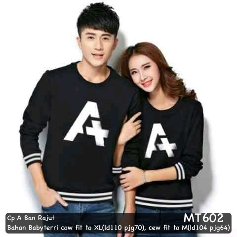 harga Sweater couple/sweater pasangan murah cp a ban rajut Tokopedia.com