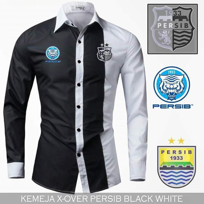 harga Baju kemeja bola original persib (lengan panjang) / murah / pria /2018 Tokopedia.com