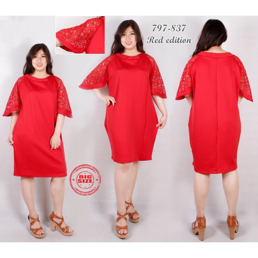 Dress Kids Red Lace Martha 2 4 Th Brokat Mix Tile Sleting Belakang .