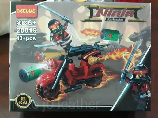 harga Lego bricks kw ninjago movie dgn kendaraan merk decool/mainan anak Tokopedia.com