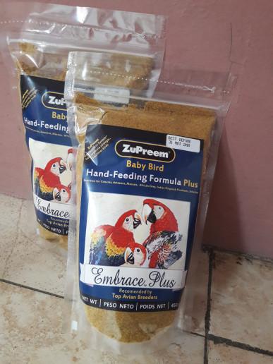 harga Pakan makanan lolohan burung kakatua nuri macaw sc zupreem plus 450grm Tokopedia.com