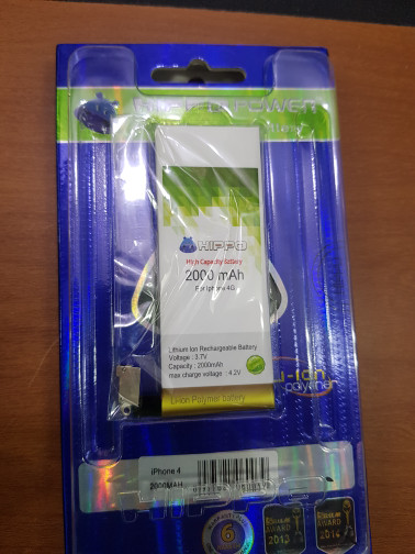 harga Battery hippo iphone 4g Tokopedia.com