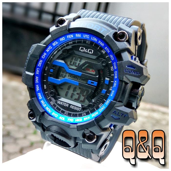 harga Jam tangan q&q digital sport - jam tangan qq digital Tokopedia.com
