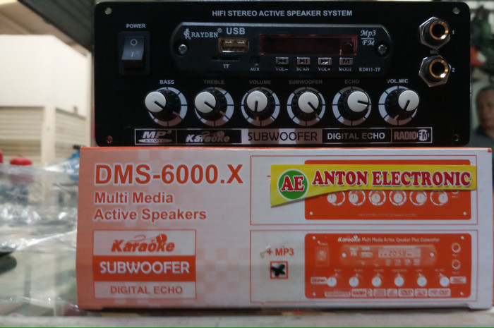 harga Kit power amplifier stereo karaoke + mp3  dms-6000 Tokopedia.com