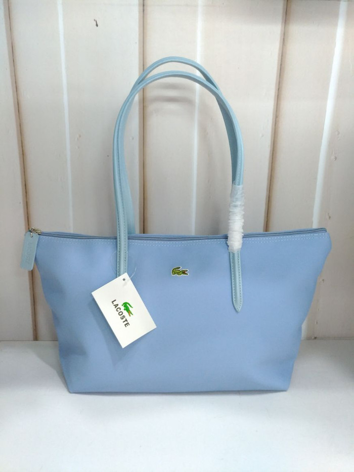 4c0b10094 Jual Lacoste tote bag (baby blue) - Fastro