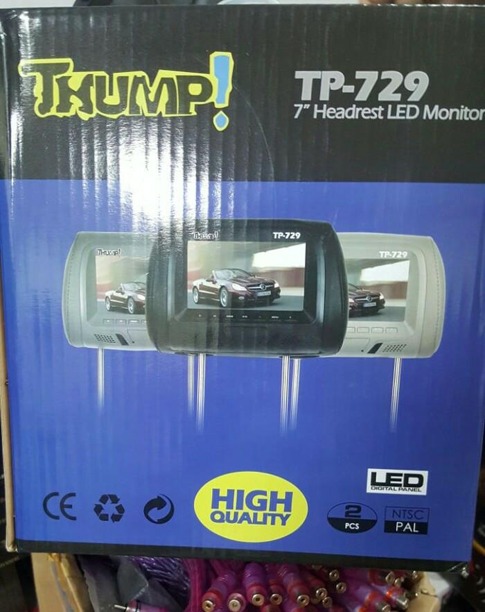 harga Tv headrest thumbs to-729 led monitor Tokopedia.com