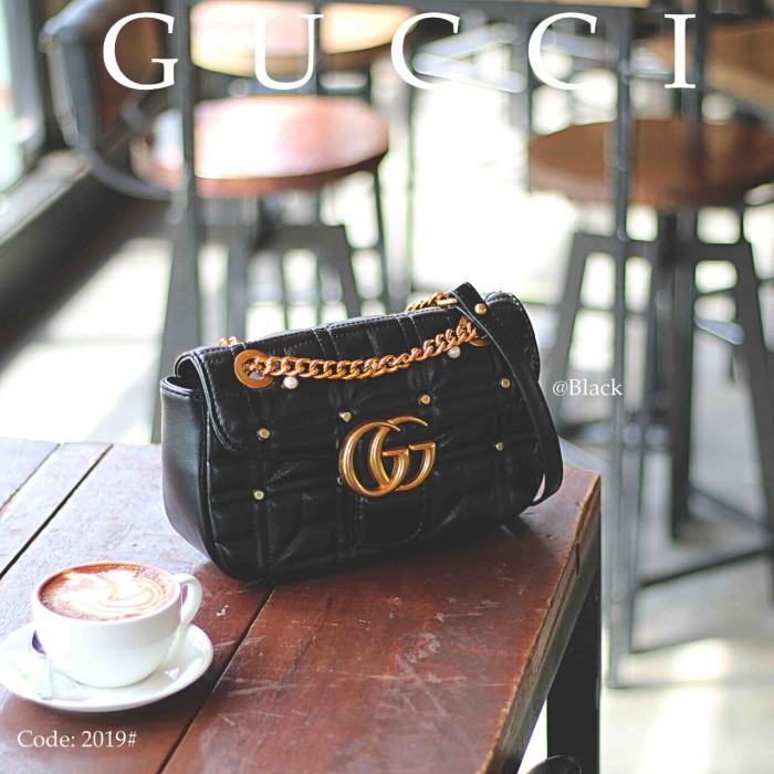 e4ffac1cae80 Jual Gucci Marmont 2019 - tasbatam168   Tokopedia