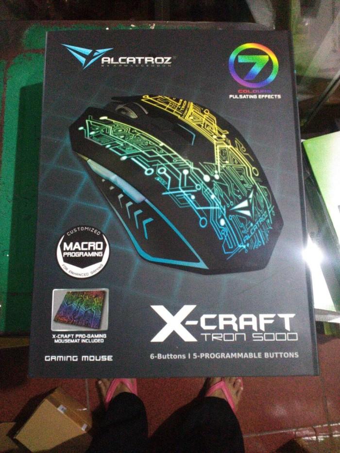 Cari Harga Alcatroz X Craft Tron5000 Macro Gaming Mouse 6d Usb With Source · Powerlogic Gaming
