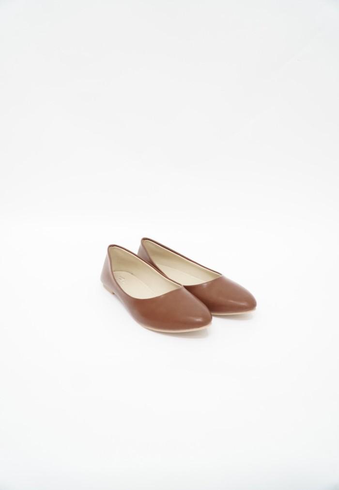 Foto Produk Blow Flat Shoes BG 14 Dark Brown Sepatu Wanita dari Supertu