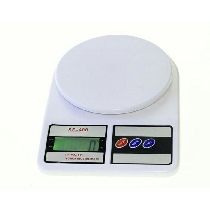 harga Timbangan kue 10kg / timbangan dapur digital sf-400 (with backlight) Tokopedia.com
