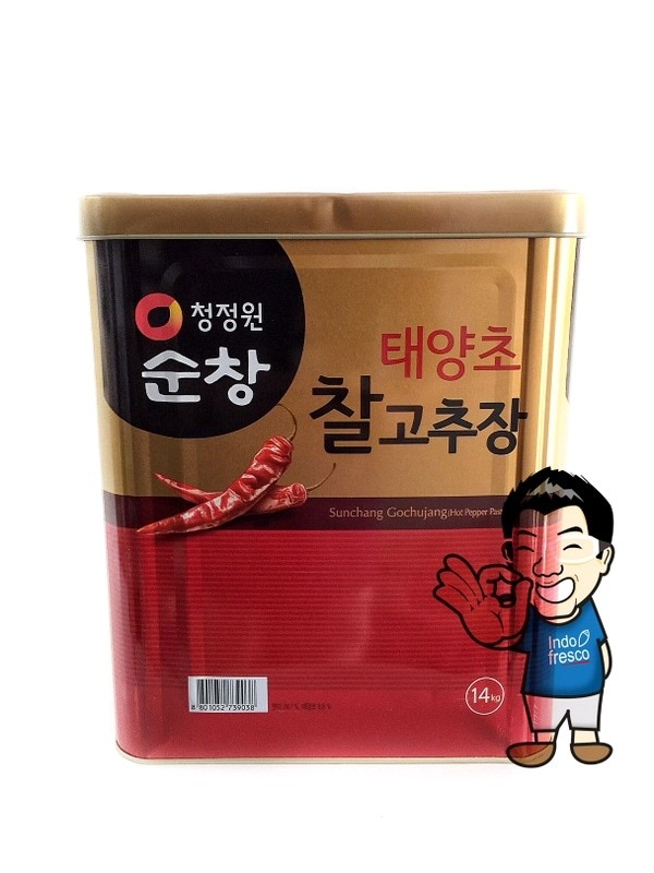 harga Chung jung one gochujang- saus sambal korea- red pepper paste 14 kg Tokopedia.com