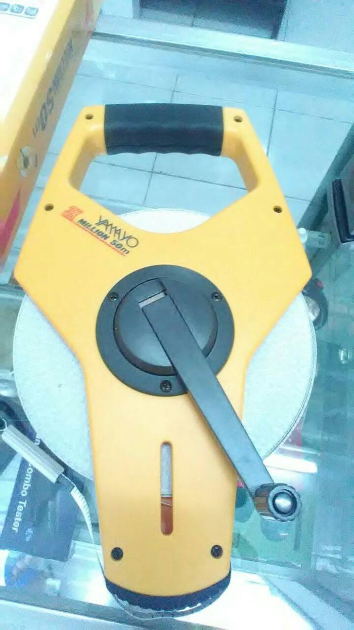 harga Jual meteran yamayo 50m fiber Tokopedia.com