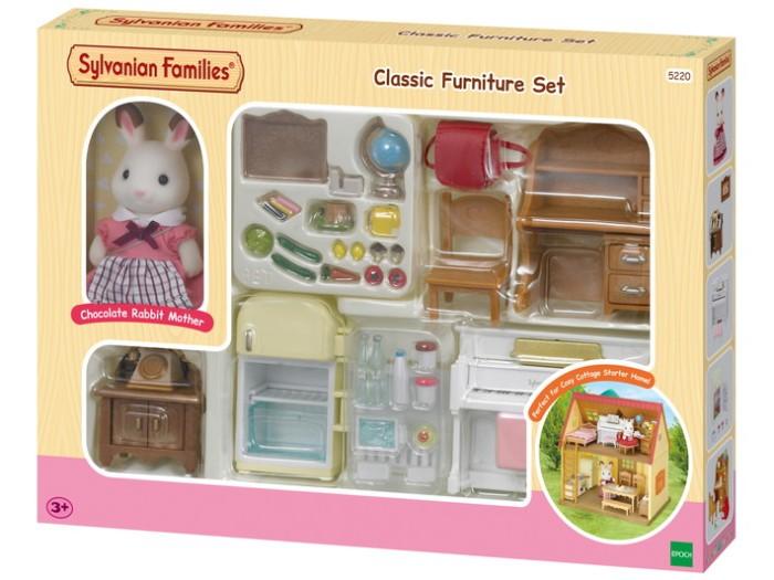harga Sylvanian families classic furniture set Tokopedia.com