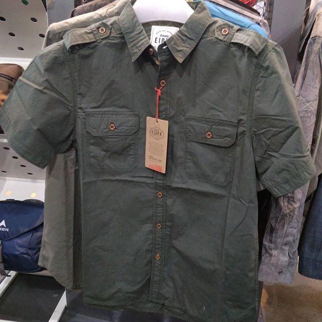 harga Kemeja eiger cranium shirt green hijau  910003536005 original keren Tokopedia.com