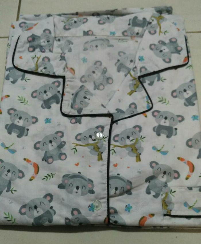 harga Piyama dewasa pria-koala mens long pants pajama-baju tidur cowo Tokopedia.com