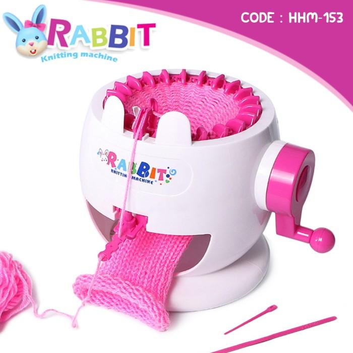 harga Mainan anak mesin rajut mini rabbit knitting machine (hhl-153) Tokopedia.com