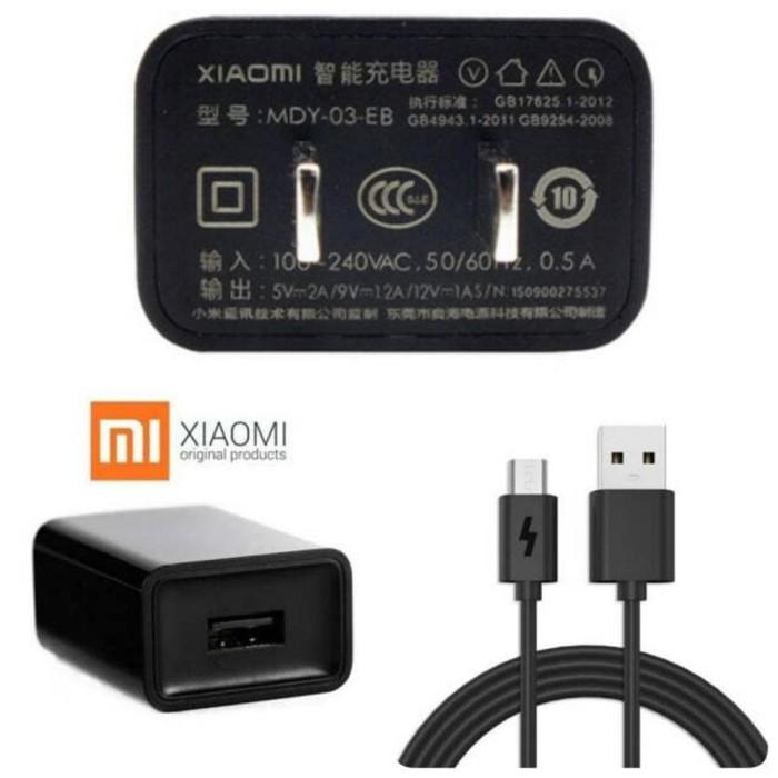 Quick Charger Xiaomi Original 100% Cas Fast Charging 2A Micro USB