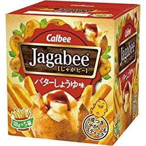 harga (ready) calbee jagabee box : sweet butter soy  japan Tokopedia.com