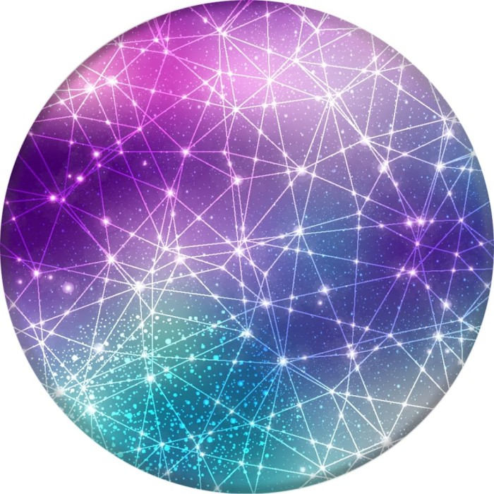 popsockets galactic starry constellation (ps-gl-sc-gy)